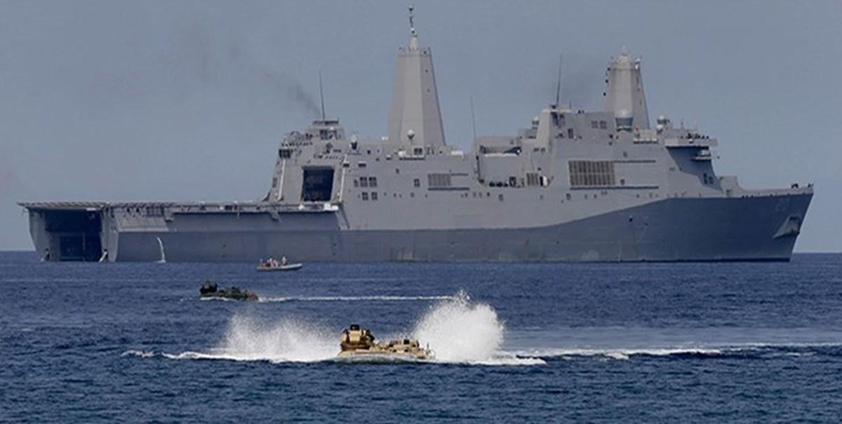 حادثه ناو آمریکایی در کالیفرنیا | مفقودوکشته شدن تعدادی از تفنگداران نیروی دریایی