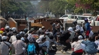 اعتراضات   امروز معترضین زیادی در میانماربه قتل رسیدند