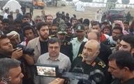 سرلشکر سلامی: سپاه تا آخر کنار مردم سیلزده جاسک خواهد ایستاد / اینجا را ترک نمیکنیم تا شرایط بهتر از قبل شود