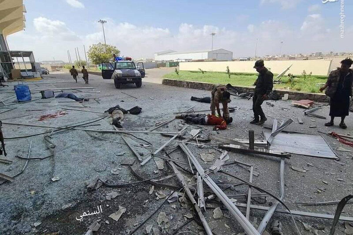 ۲۶ کشته و ۶۵ زخمی در حملات فرودگاه عدن