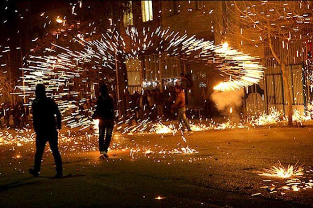 وقوع حوادث چهارشنبه سوری از ابتدای اسفند   مصدومیت ١١ تن در تهران تا کنون