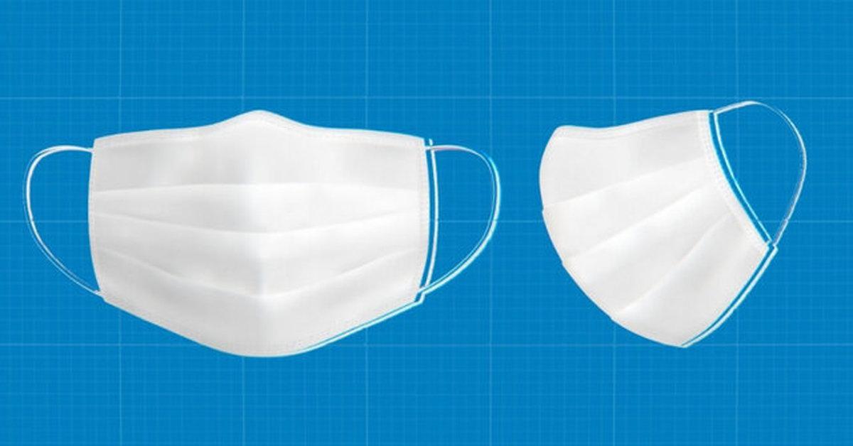 اهمیت اندازه ماسک در مقابله باکرونا