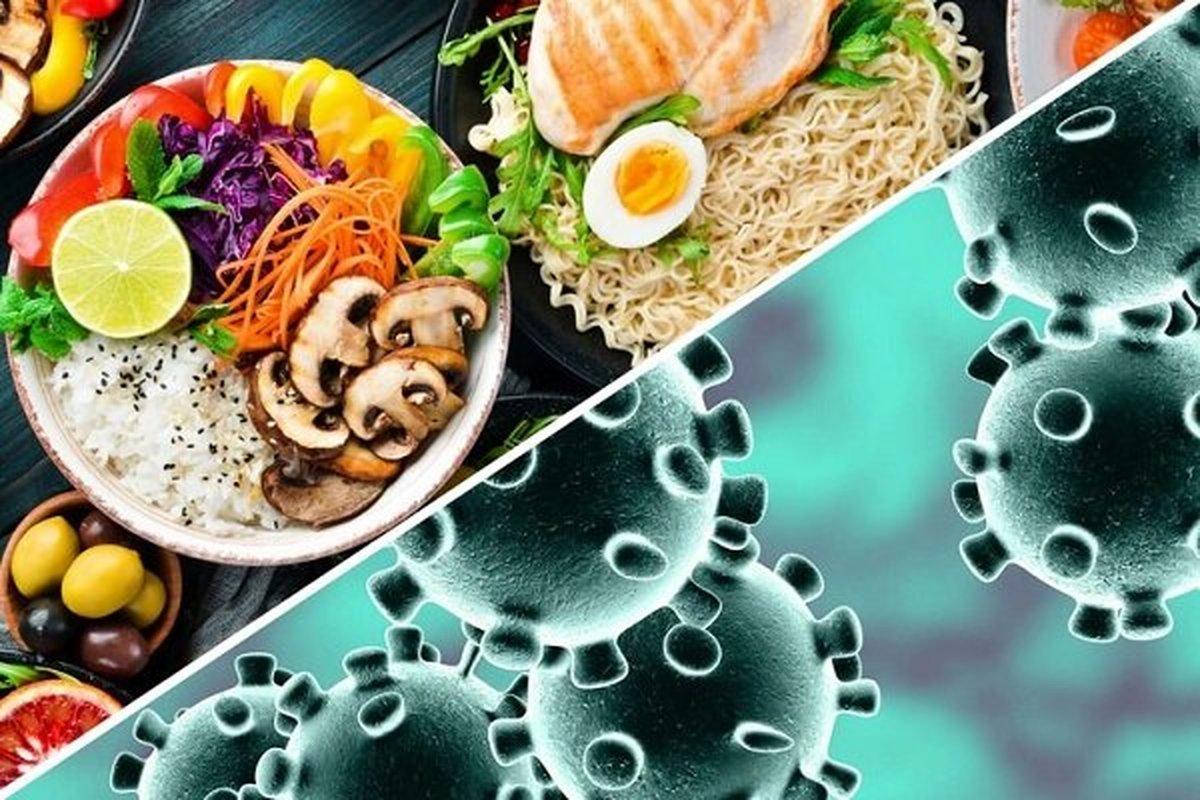 رابطه تغذیه سالم در مقابله با ویروس کرونا