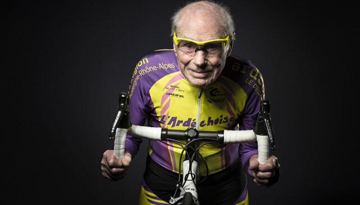پیرترین دوچرخه سوار جهان درگذشت