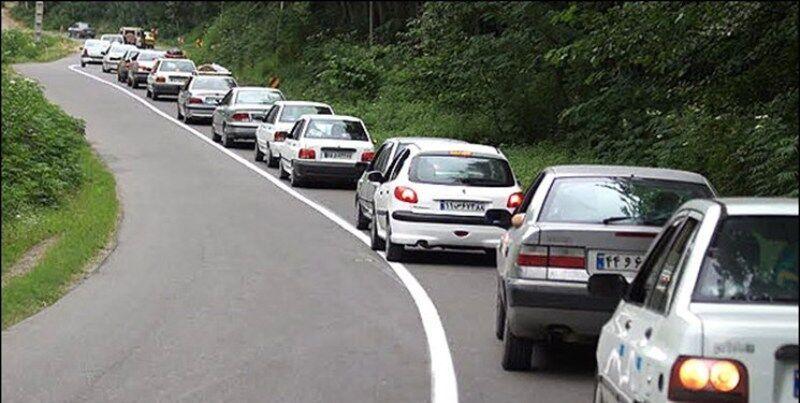 وضعیت ترافیک   |  تردد وسیله نقلیه از کرج به چالوس ممنوع شد