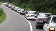 وضعیت ترافیک      تردد وسیله نقلیه از کرج به چالوس ممنوع شد