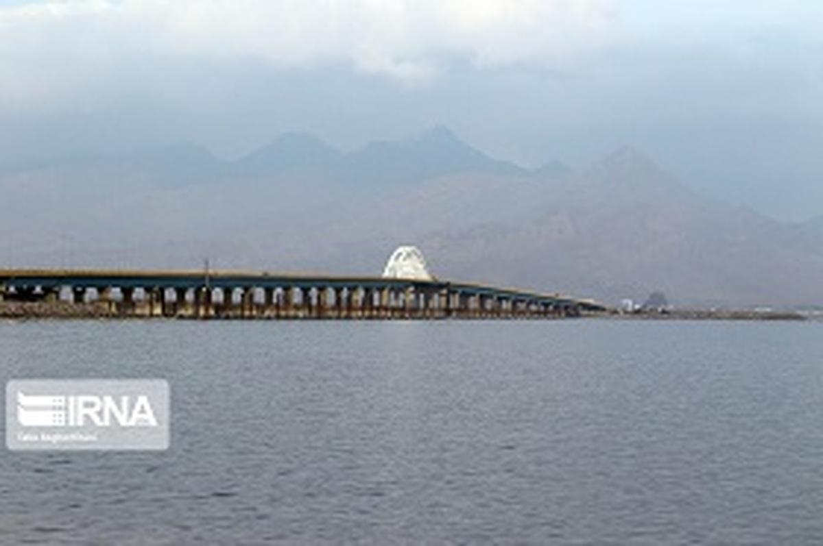 افزایش عمق کف دریاچه ارومیه