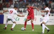 تساوی ایران و بحرین در پایان نیمه اول| موقعیتهایی که به گل نرسید