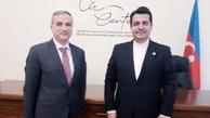 دیدار سفیر کشورمان با رئیس مرکز تحلیل روابط بینالملل جمهوری آذربایجان