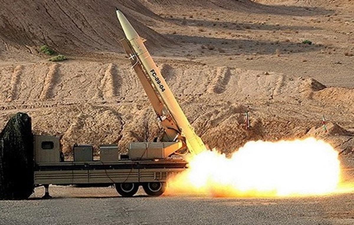 شلیک موشکهای بالستیک سپاه از اعماق زمین در رزمایش پیامبر اعظم ۱۴