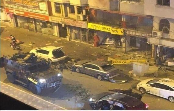 انفجار       جنوب ترکیه با انفجار مهیب لرزید