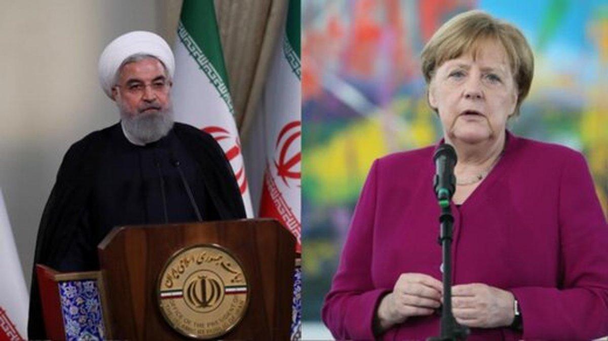 روحانی با صدراعظم آلمان گفتگوی تلفنی داشت