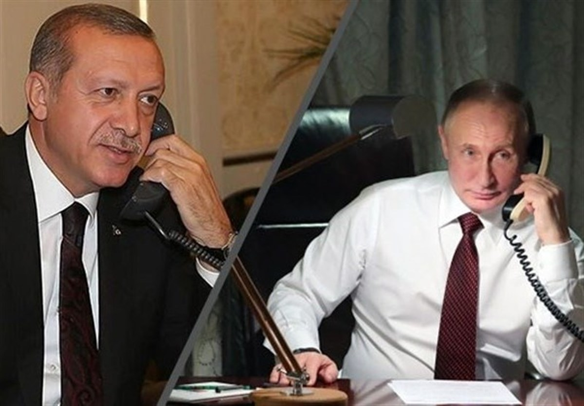 اوضاع فلسطین  |  گفتگوی تلفنی پوتین و اردوغان