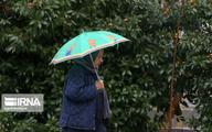 بارش باران تا امشب در استان تهران ادامه دارد