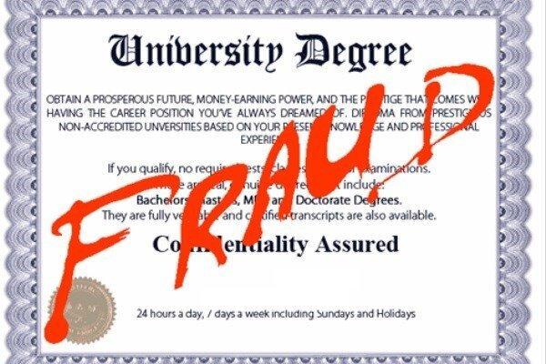 درخواست از قوه قضاییه برای برخورد با مراکز جعل مدرک دانشگاهی