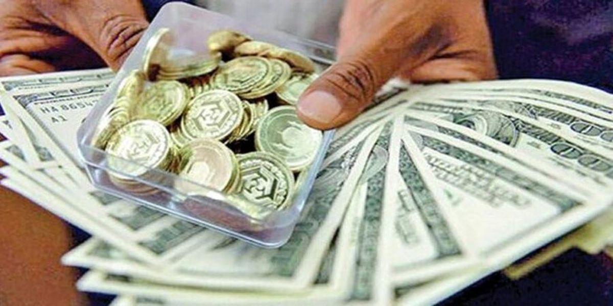 قیمت سکه وطلا   |   فاصله قیمتی بین دو بازار سکه ودلار