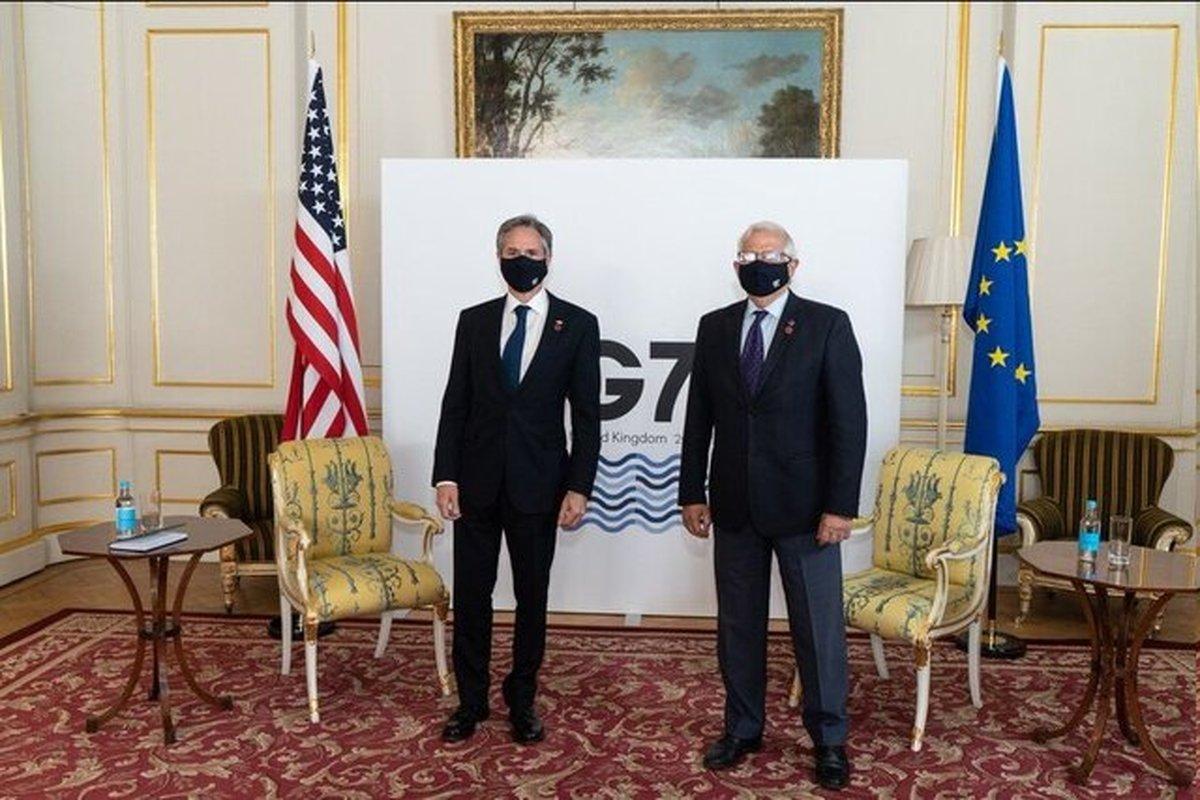 گفتوگوی جوزپ بورل و وزیر خارجه آمریکا درباره برجام
