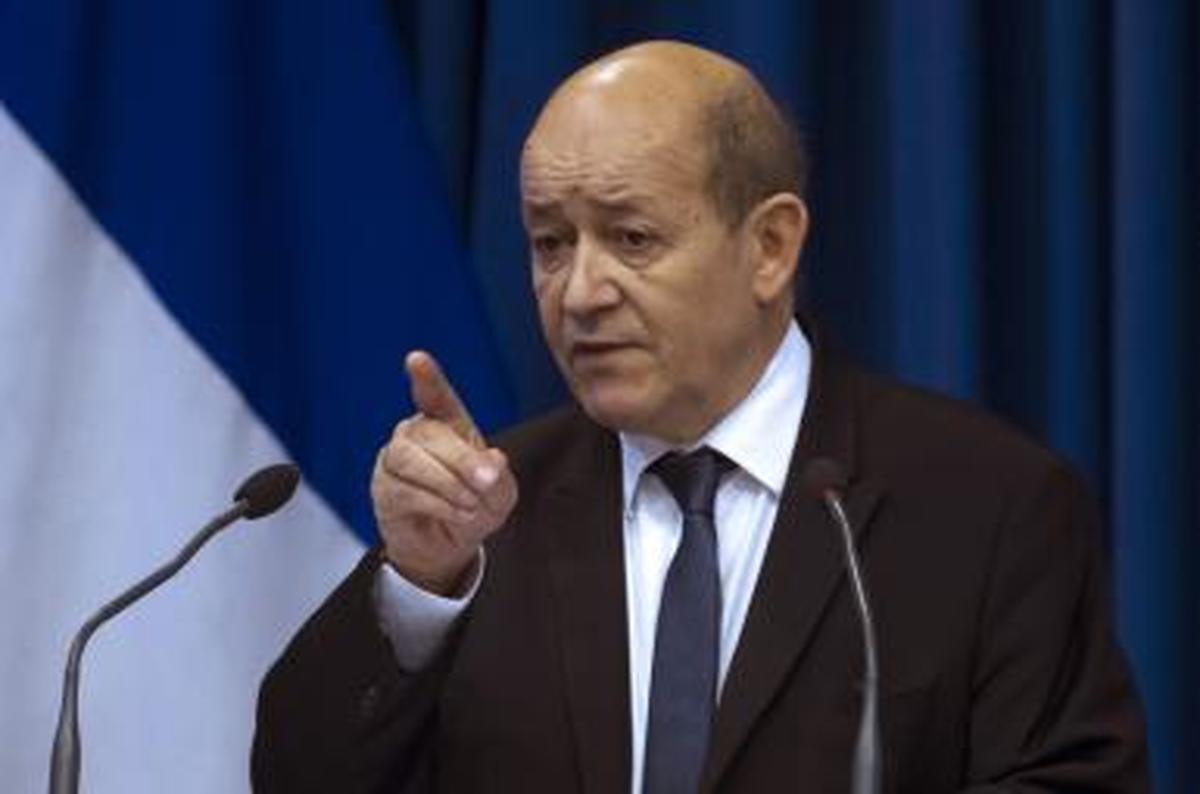 تاکید وزیر خارجه فرانسه بر لزوم همکاری با ایران برای حل مسئله افغانستان