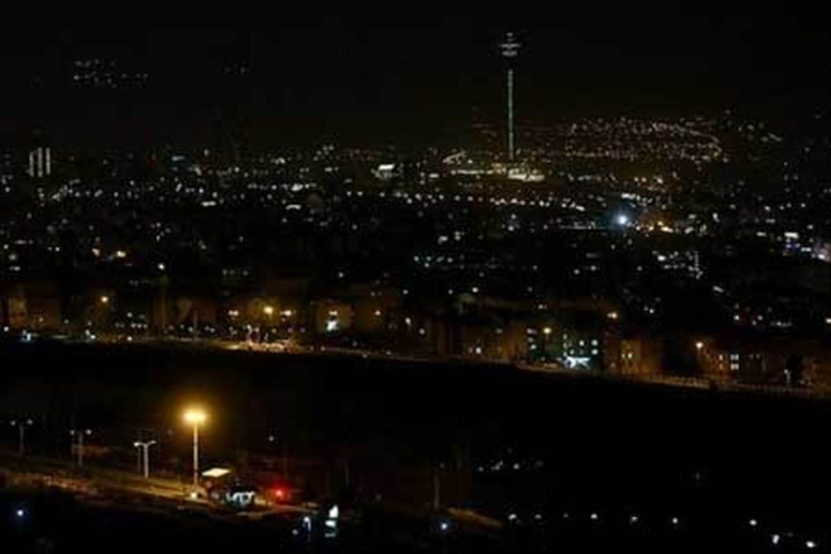 با استفاده از نقشه جغرافیایی از خاموشی های احتمالی شهر تهران مطلع شوید