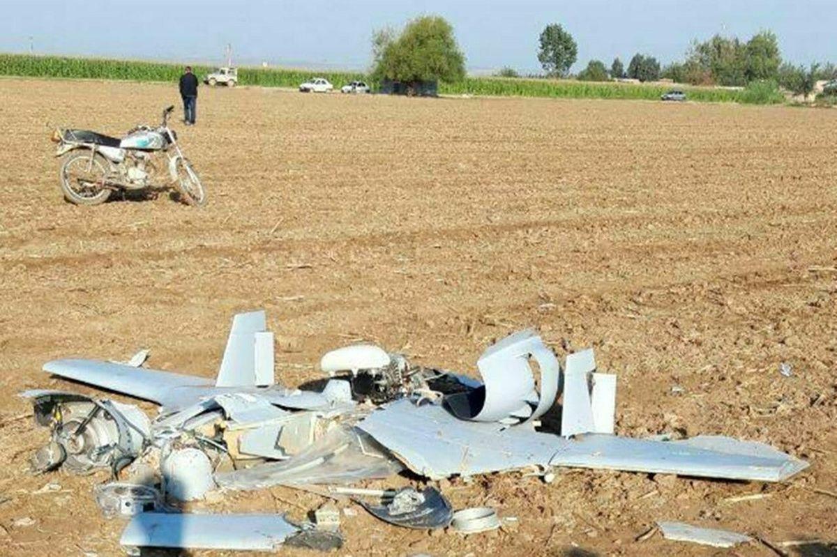 یک پهپاد در روستای مرزی ایران و جمهوری آذربایجان سقوط کرد