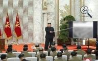 رهبر کره شمالی پس از سه هفته غیبت،  در نشستی نظامی حاضر شد