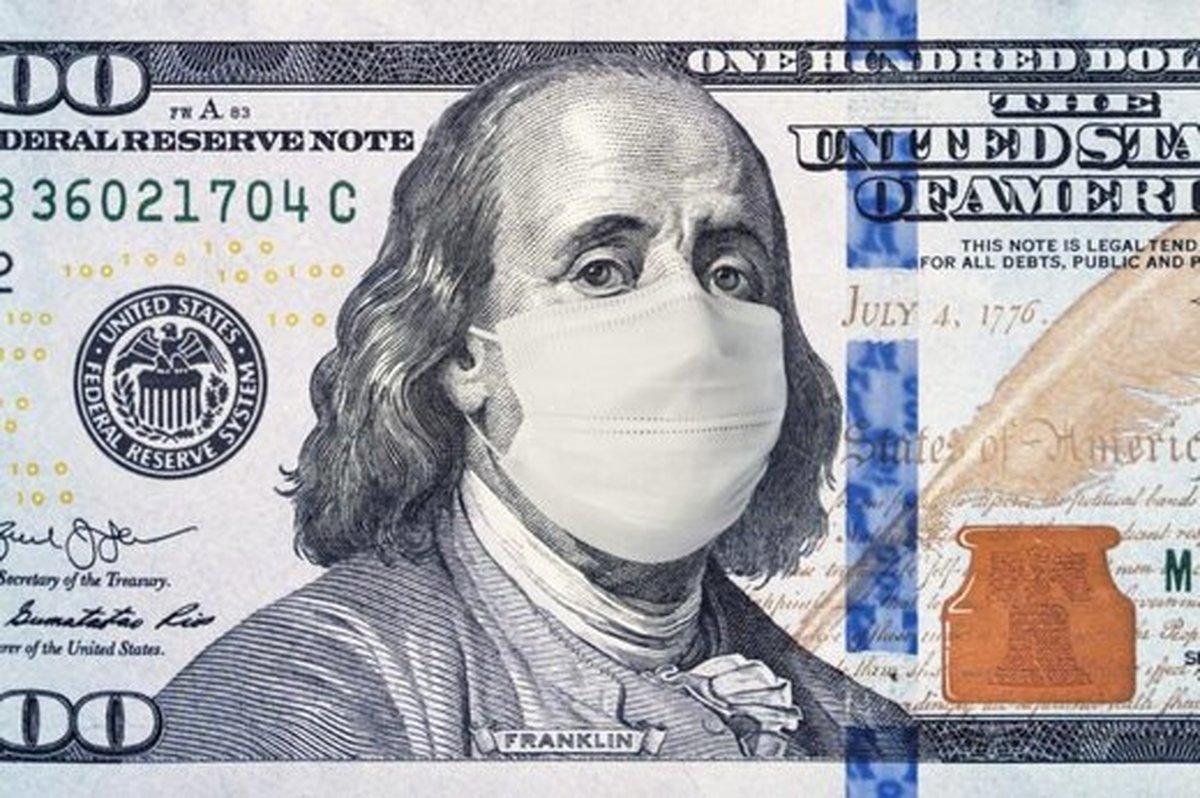 همه گیری کرونامی تواند باعث تسریع سقوط دلار شود