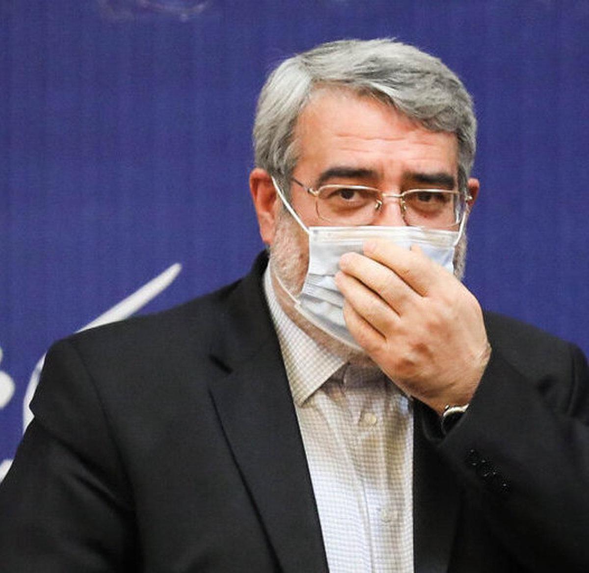 حال وزیر کشور چطور است؟| وزیر کشور پس از رهایی از کرونا+عکس