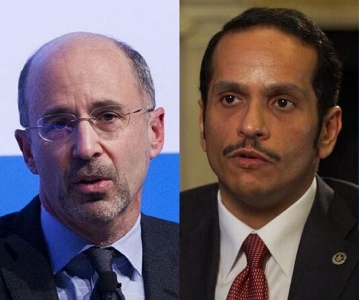 ایران |  وضوع گفتوگوی رابرت مالی و وزیر خارجه قطر درباره ایران بود