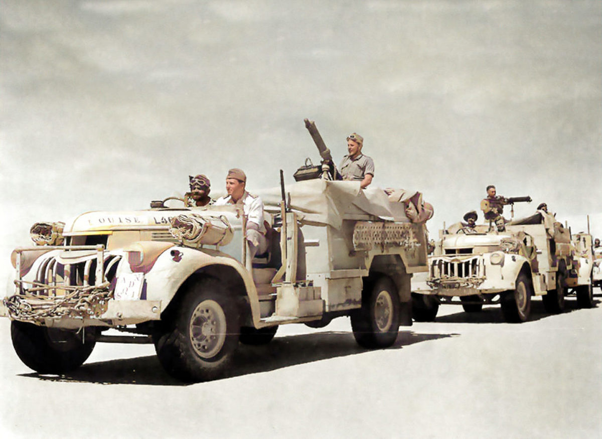 تصاویر تازه منتشر شده از عملیات متهورانهای که باعث شکست آدولف هیتلر در آفریقا شد