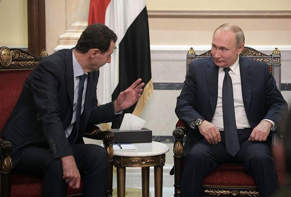 خیانت پوتین به اسد و ایران