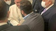 هدیه پاپ به یکی از فرماندهان الحشد الشعبی