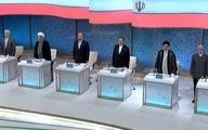 نخستین رویارویی نامزدهای ریاست جمهوری در میدان مناظره