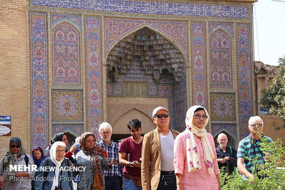 ورود ۷ میلیون گردشگر خارجی به ایران در سال ۹۷