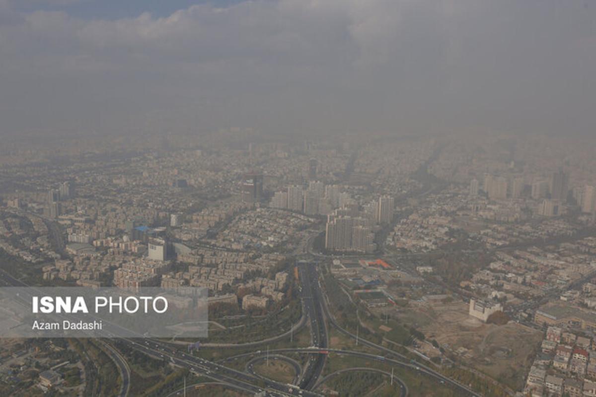 توصیه محیط زیست تهران نسبت به خودداری کودکان و سالمندان از فعالیت در فضای باز