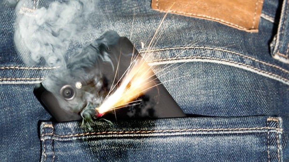 باتری موبایل مجهز به آتش خاموشکن ساخته میشود