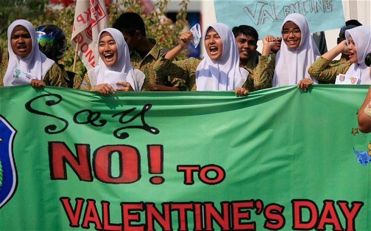 جشن «ولنتاین» در کدام کشورها ممنوع است؟