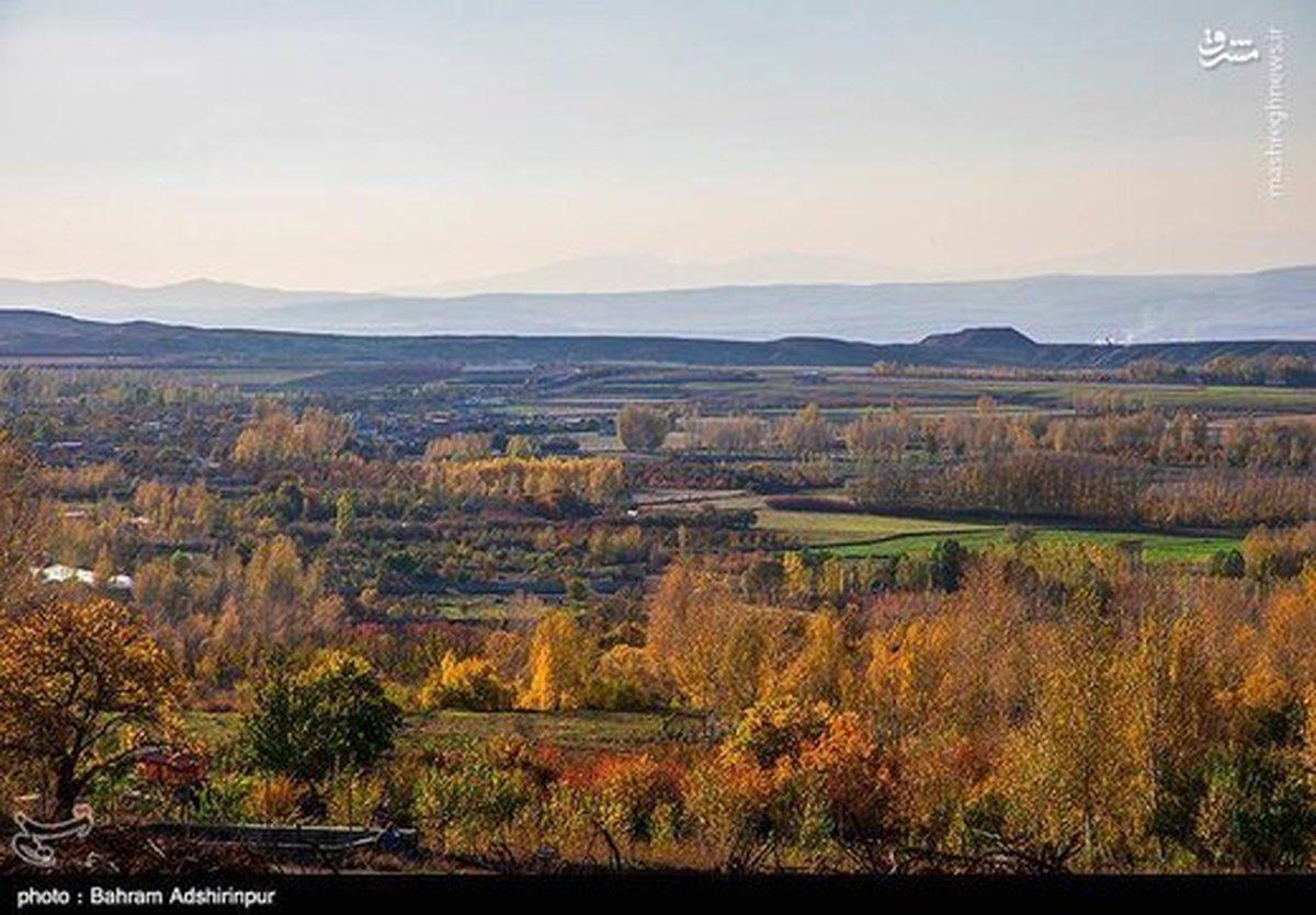 تصاویر| پاییز هزار رنگ در باغشهر هیر