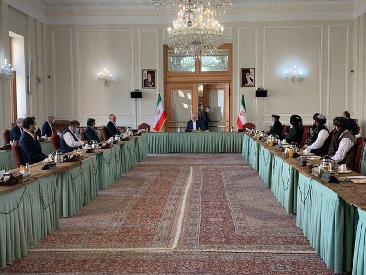 گفتگوی دولت افغانستان و طالبان در تهران