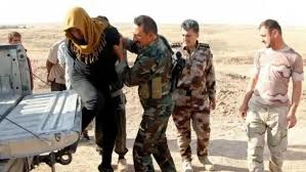 تروریست  داعش  |  سرکرده اصلی داعش در عراق  دستگیر شد