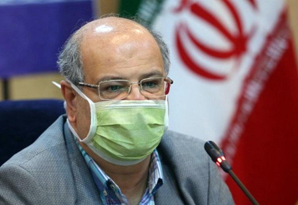 زالی: شرایط کرونایی تهران تا ۲ هفته آینده بهبود نمییابد