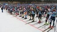 اولین اسکی ماراتن روسیه بعد از کرونا رکوردشکنی کرد