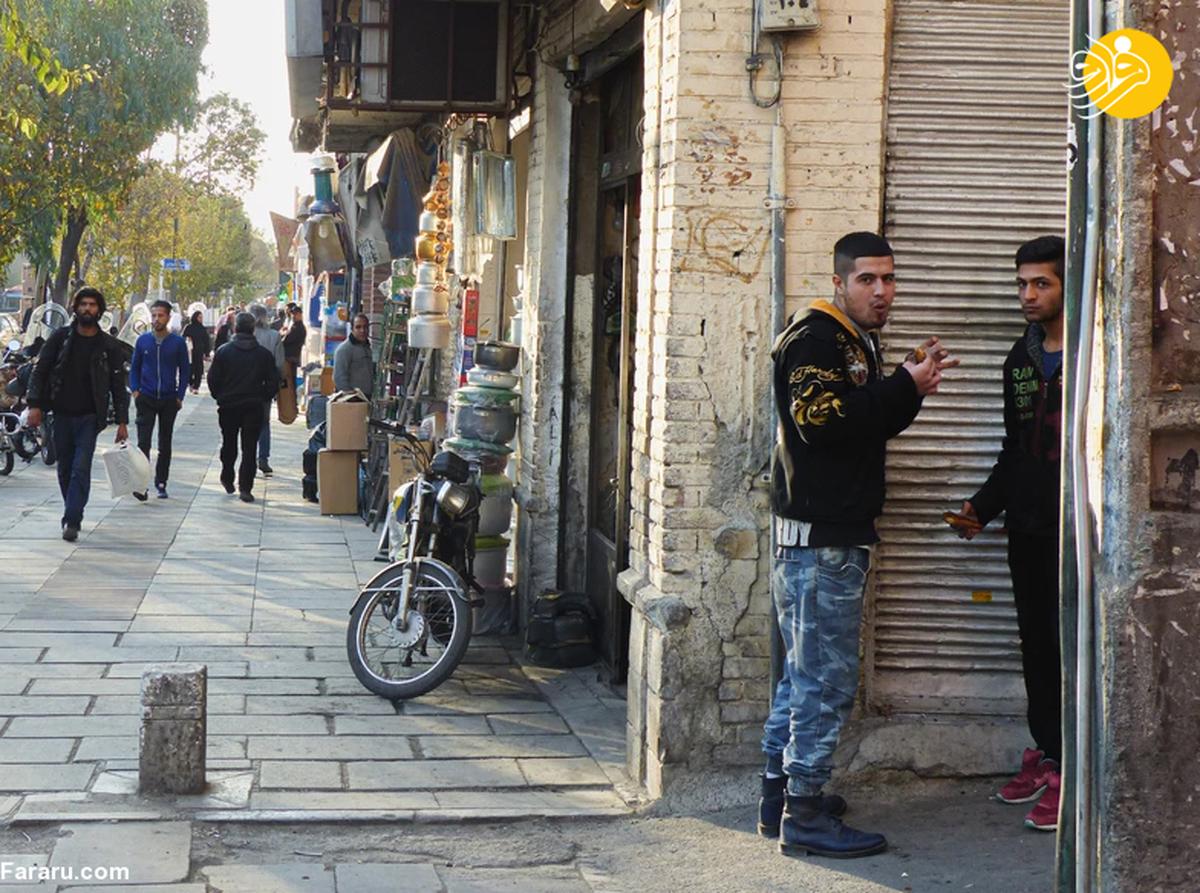 عکسهای عکاس فرانسوی از جوانان ایرانی