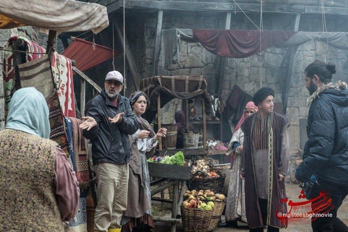 پشت صحنه فیلم مست عشق در ترکیه