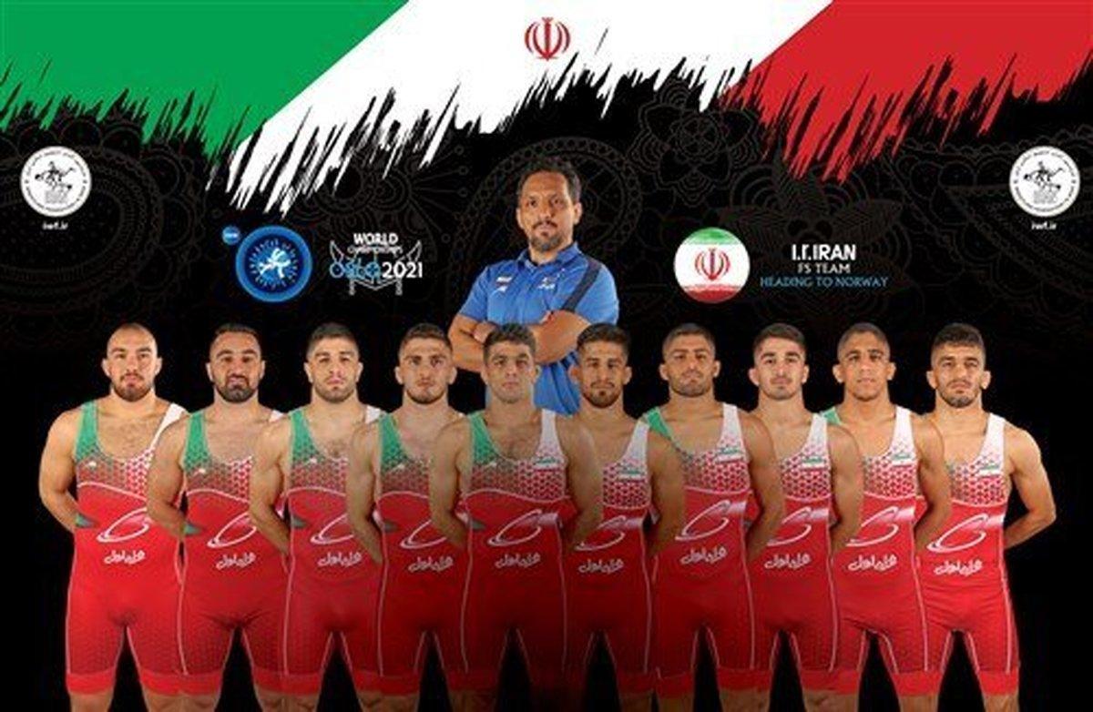 تیم ملی کشتی آزاد ایران سوم جهان شد| روسیه بر سکوی قهرمانی ایستاد