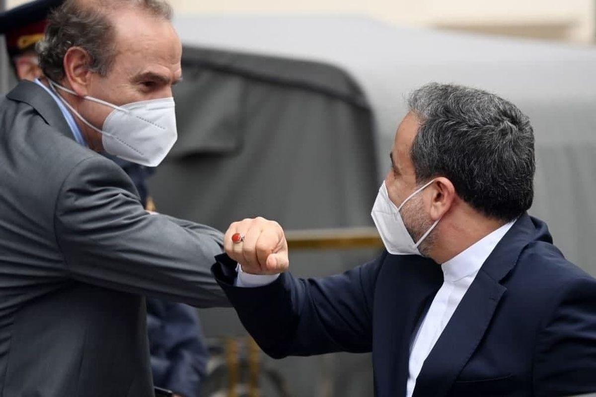 دور پنجم مذاکرات ایران و گروه ۱+۴    دیدار عراقچی با انریکه مورا
