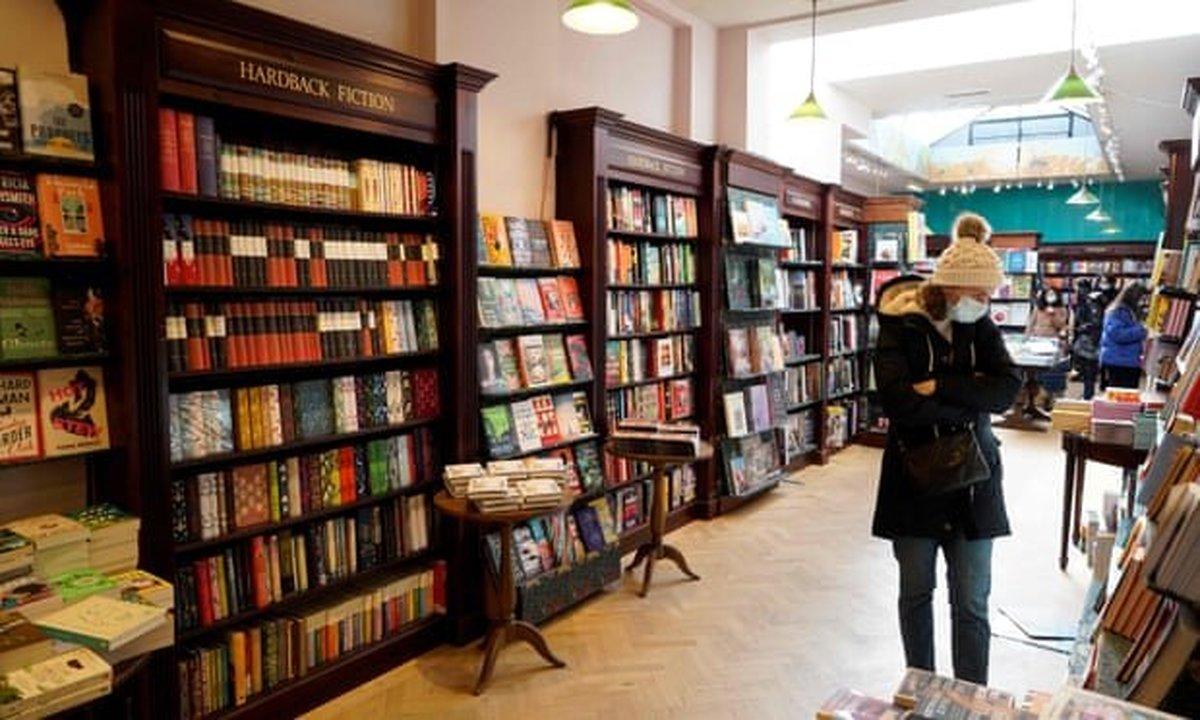 قرنطینه دلیل افزایش فروش کتاب در بریتانیا