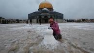 دیدنی های امروز؛ از برف خاورمیانه تا واکسیناسیون در مساجد بریتانیا