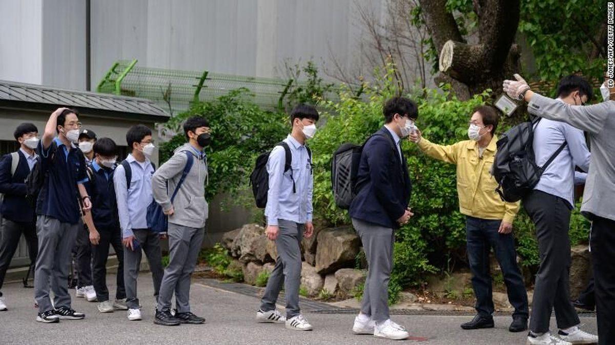 تعطیلی مدارس کره جنوبی بعداز فعالیت یک روزه