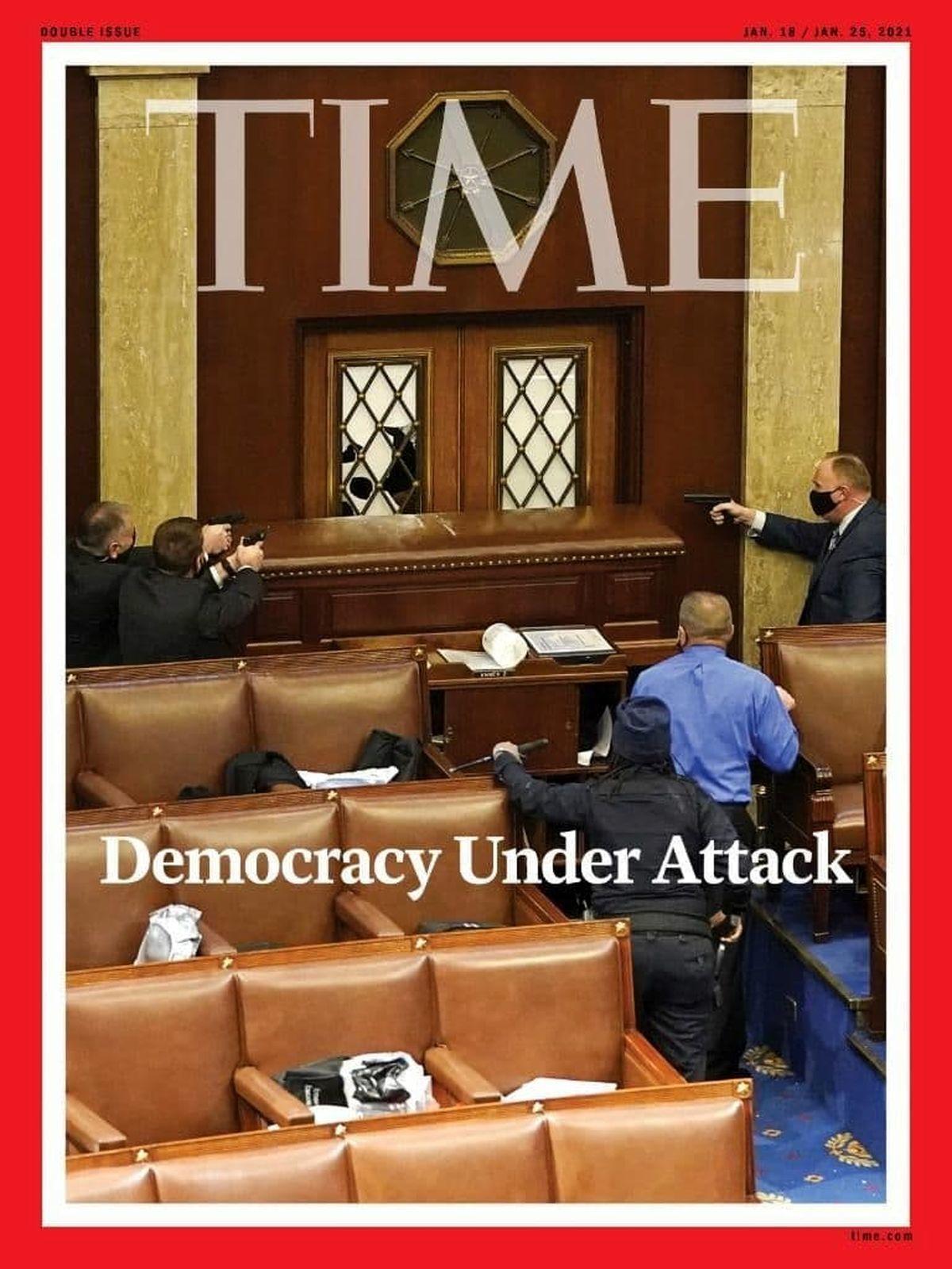 حمله به دموکراسی آمریکا