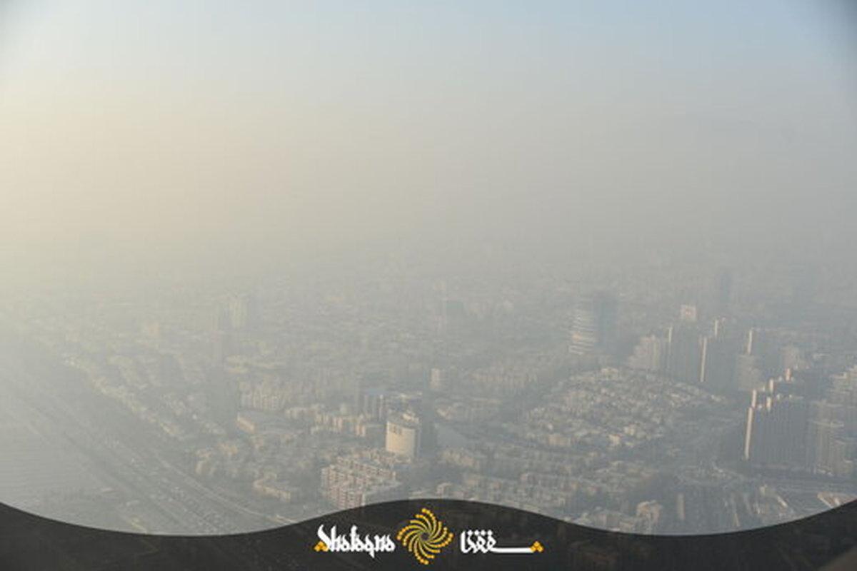 شاخص آلودگی هوای تهران روی ۱۶۰